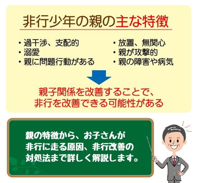 【非行少年の親の8つの特徴】更生のための具体的対策を徹底解説